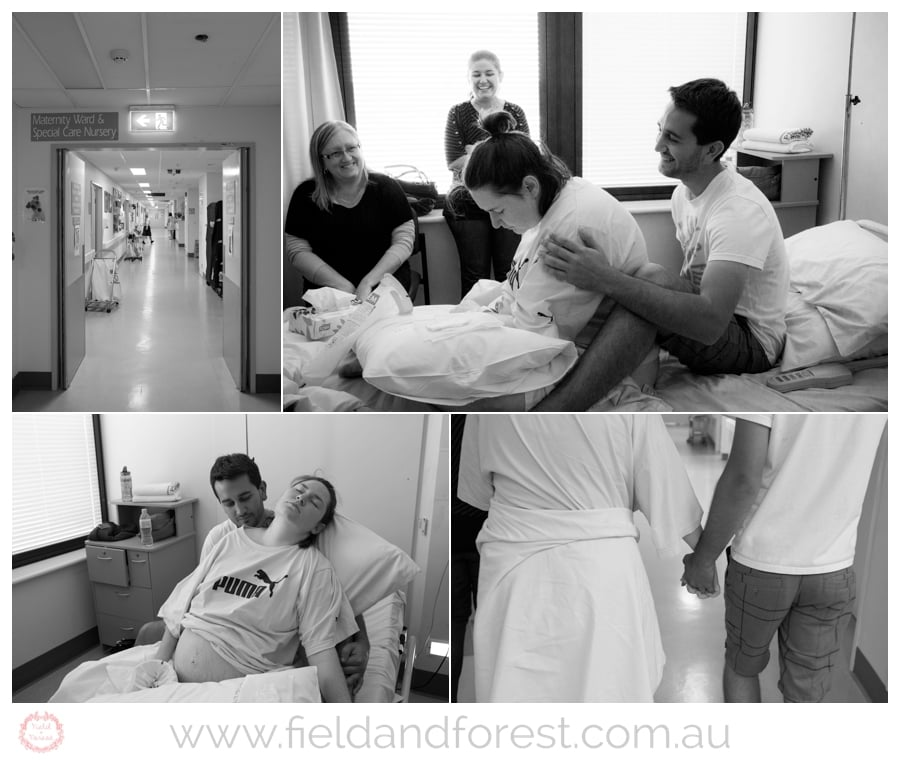 Brisbane birth photography session mater mothers hospital