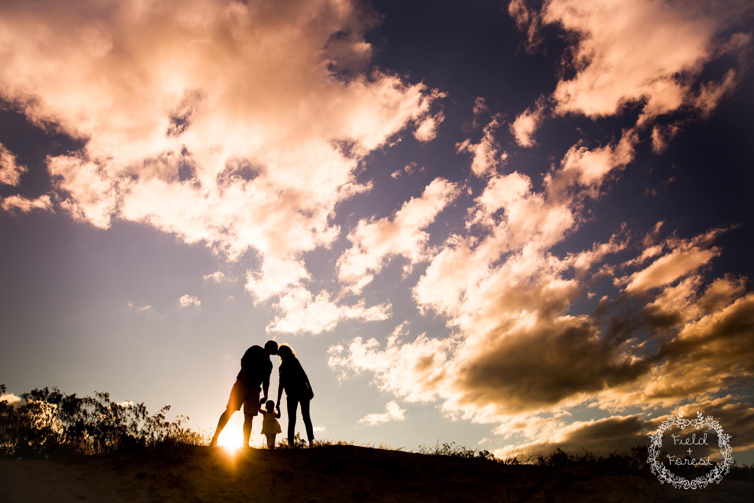 sunshine coast family portraits - field + forest photography