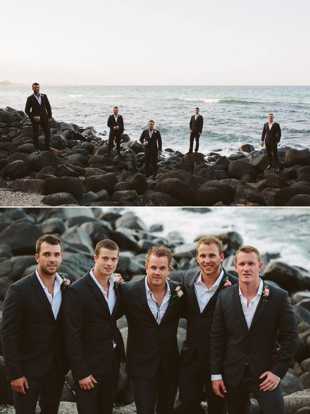 Burleigh Beach Gold Coast wedding www.fieldandforest.com.au