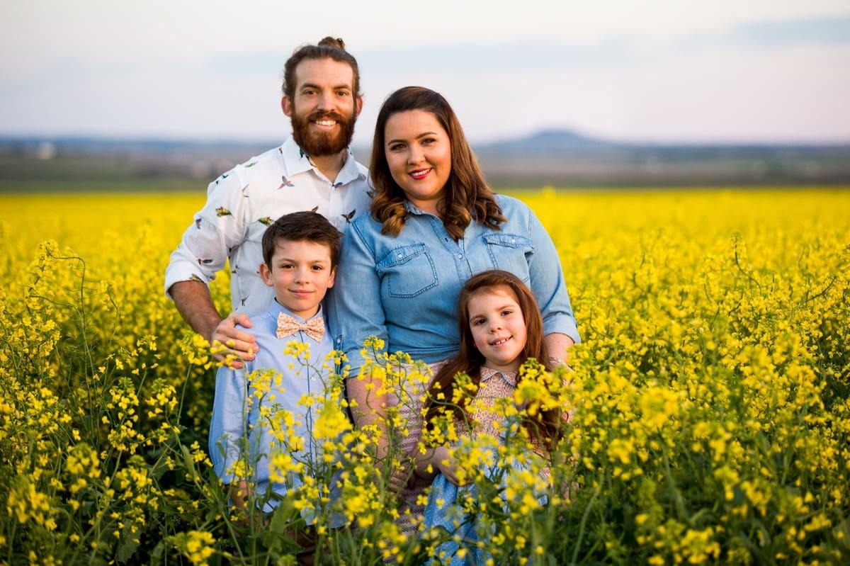 Canola Fields family-photographer-brisbane-gold-coast www.fieldandforest.com.au