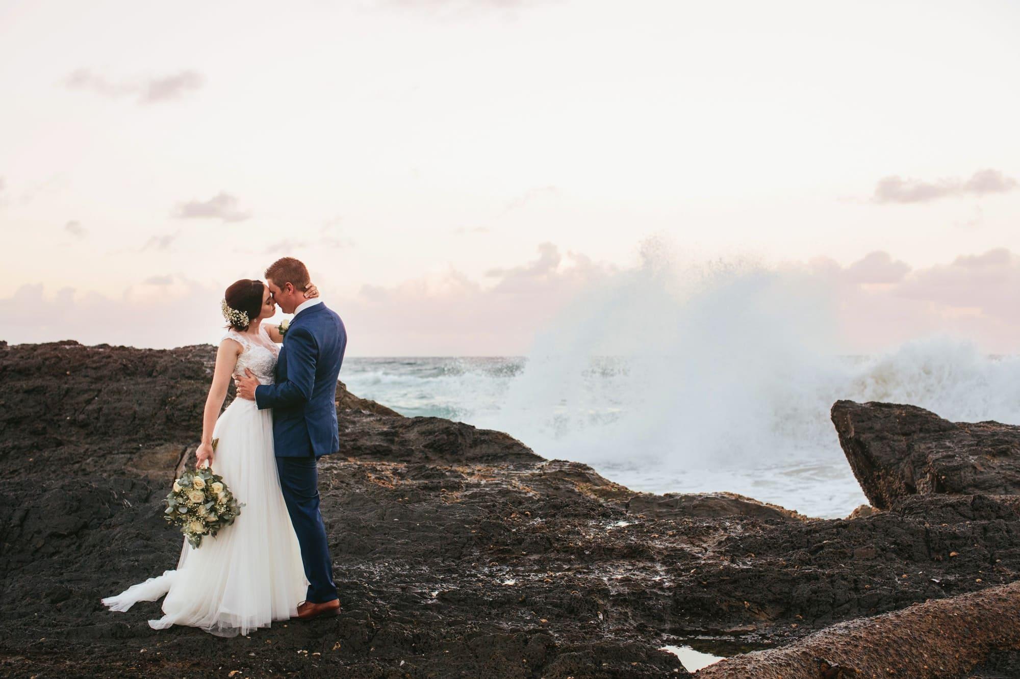 Currumbin Beach wedding www.fieldandforest.com.au
