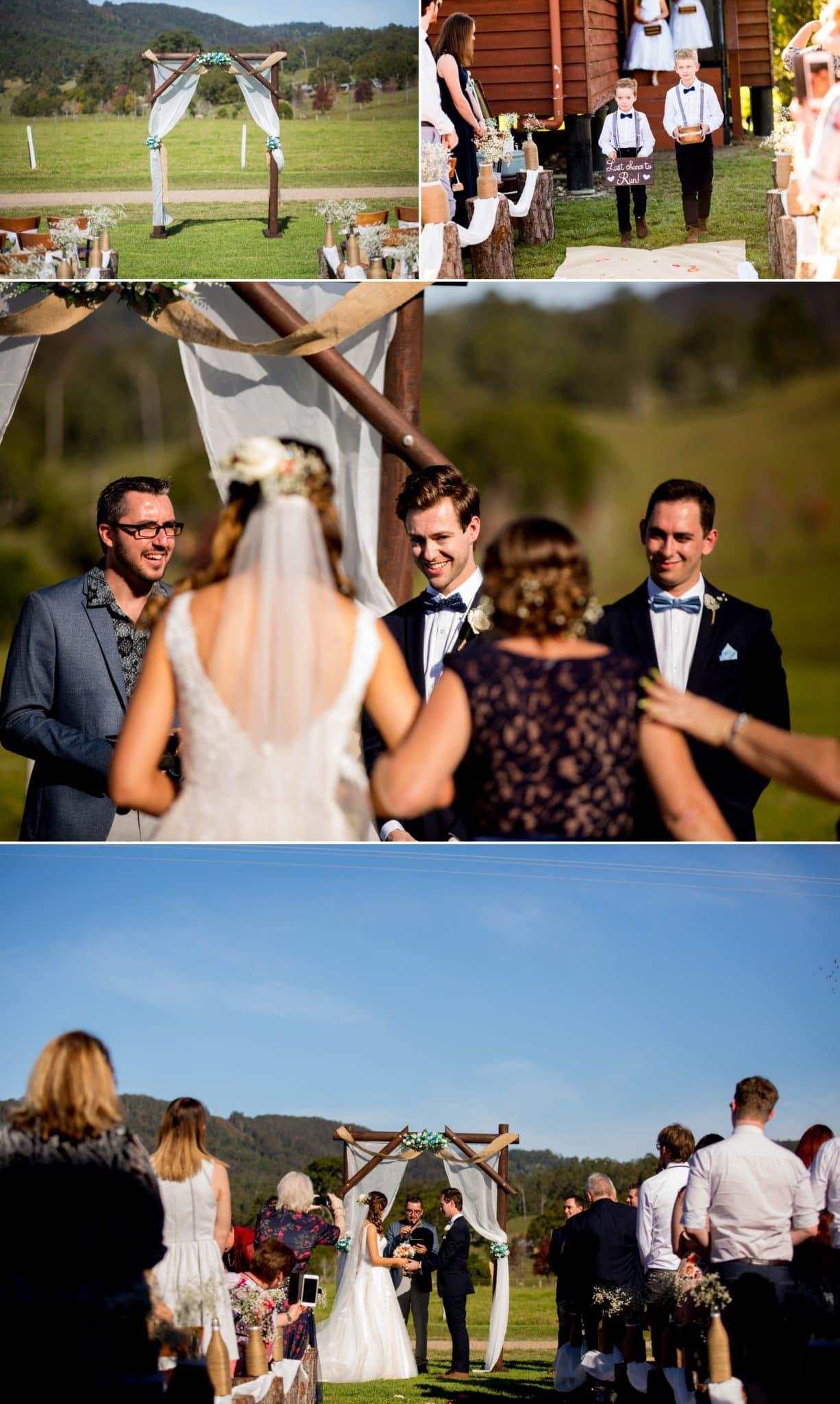 sunshine coast wedding photography www.fieldandforest.com.au