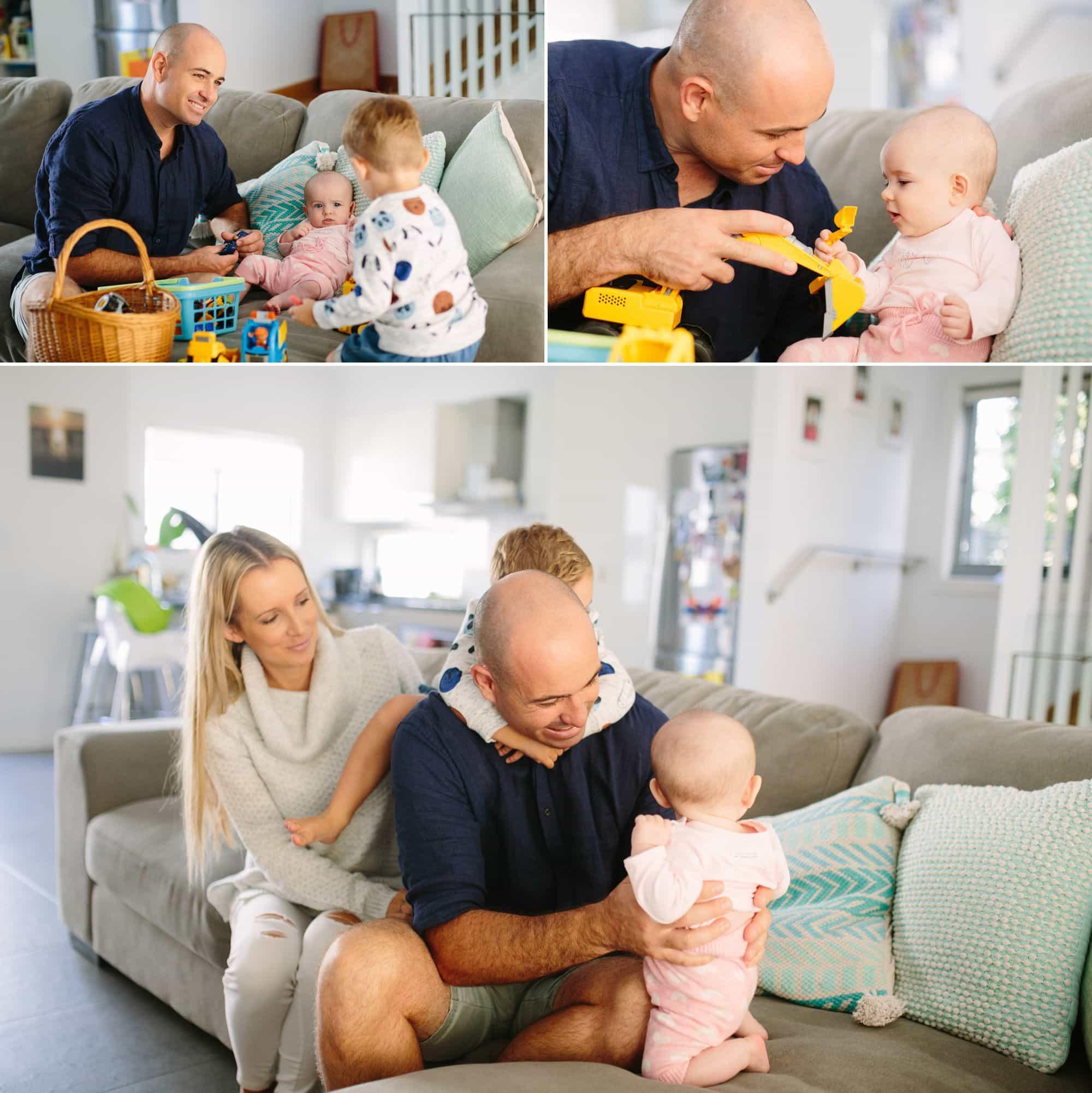 Lifestyle Family photography www.fieldandforest.com.au